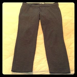 Old Navy Grey Pixie Ankle Pants